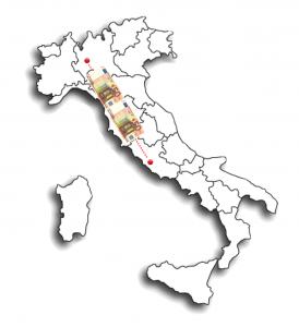 Italia MI-RO banconote