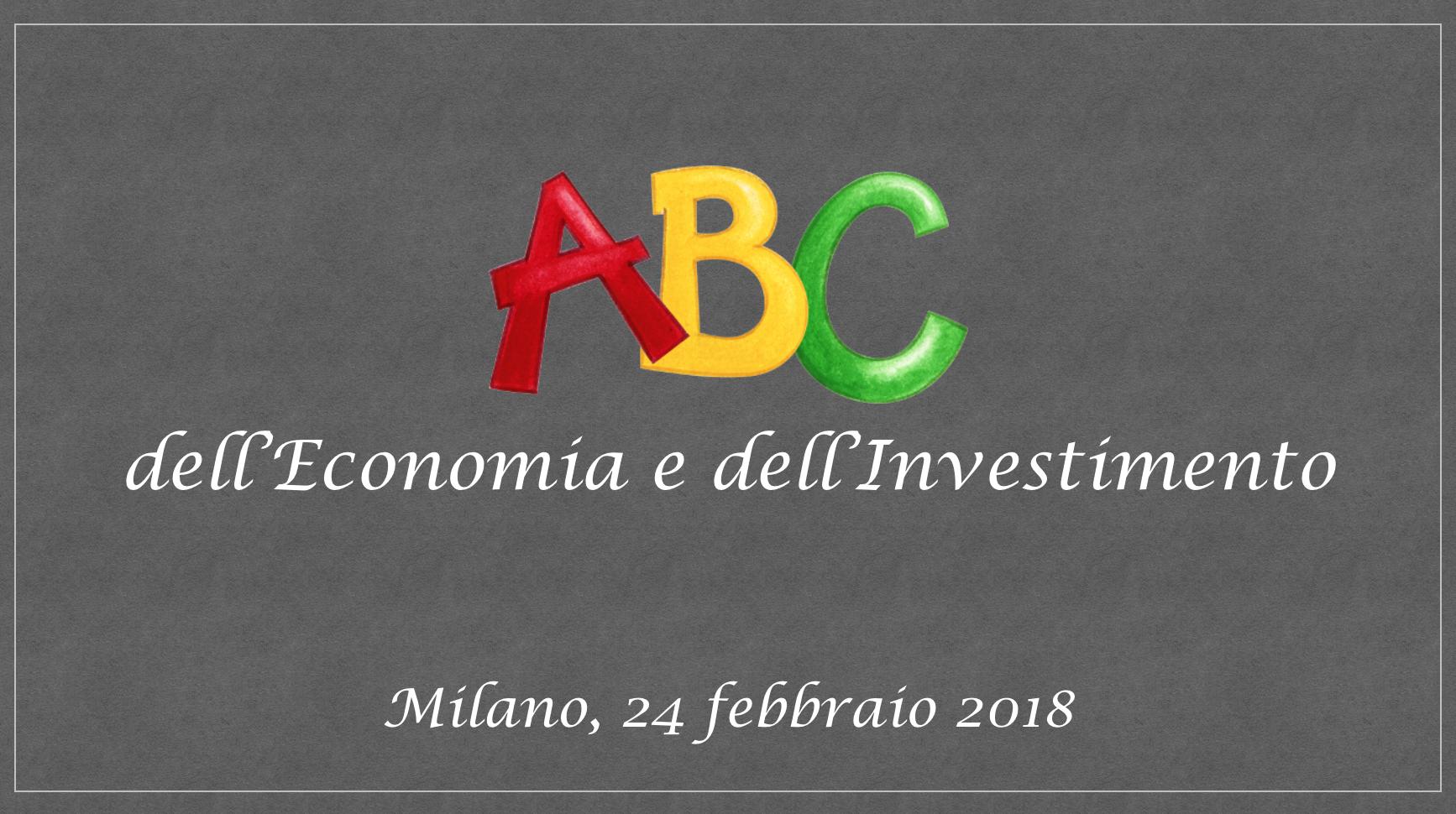 ABC Economia e Investimento copertina